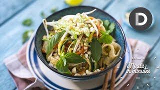 5 Minute Pad Thai Recipe!