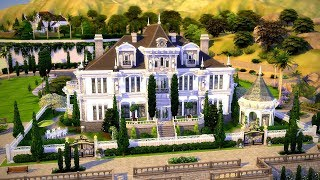 The Sims 4    Speed Build    Mottram Manor House + Giveaway Winner! 🌟