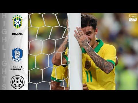 Brazil 3 - 0 Korea Republic - HIGHLIGHTS & GOALS - 11/19/19