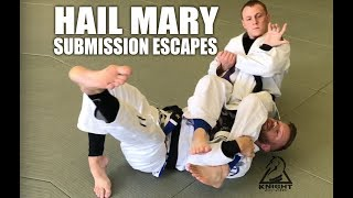Jiu Jitsu Escapes | Hail Mary Submission Escapes
