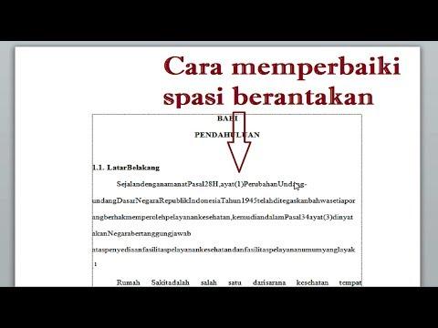 cara membuat kop surat di word 2010