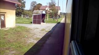 preview picture of video 'České Dráhy: Trat' 318 Kravaře ve Slezsku - Chuchelná (100%)'