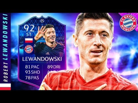MOST COMPLETE STRIKER IN FUT?! 92 TOTGS LEWANDOWSKI REVIEW! FIFA 20 Ultimate Team