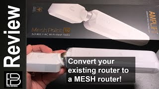 Convert your existing router to a mesh router for under $112 bucks