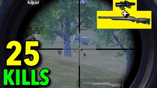 M24 vs 5 SNIPERS!!! | BEST M24 GAMEPLAY EVER| PUBG MOBILE