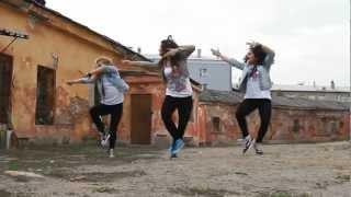 DANCEHALL choreo from Siberia on Charly Black , Busy Signal, Vybz Kartel