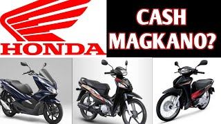 HONDA MOTORCYCLE CANVASSING | MAGKANO? | SHOUTOUTS