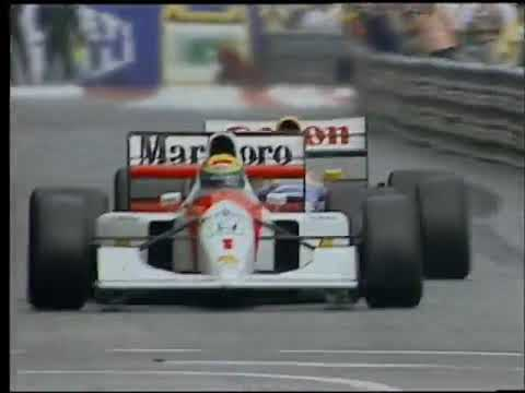 Image: WATCH: Closing stages of Senna vs Mansell Monaco 1992