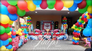 Disney Cars Theme Party Decor Tulips Events In Pakistan   Thematic Birthday Planner