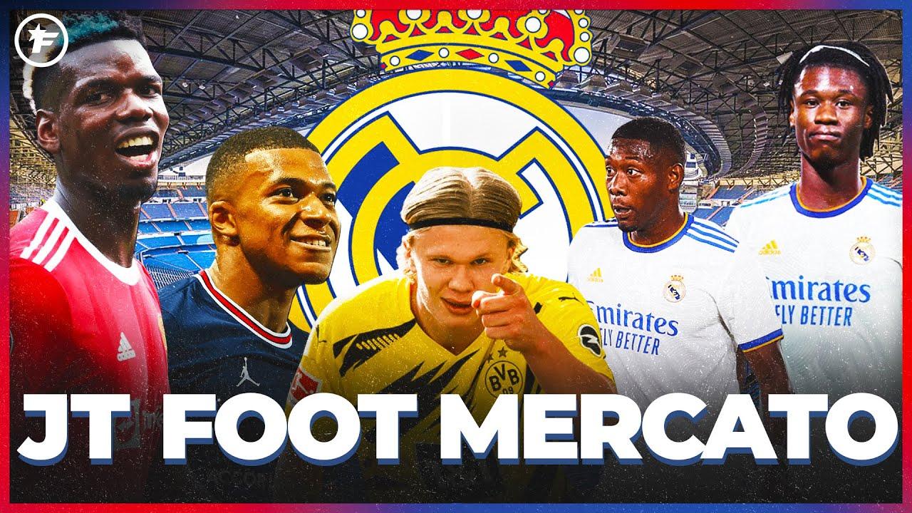 Le RÊVE FOU du Real Madrid pour 2022   JT Foot Mercato