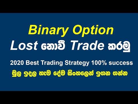 Pagina de diagramă a opțiunilor binare