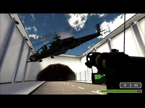 FG] Testing enemy helicopter NPC for SCP Breach server - смотреть