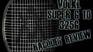 Ρακέτα τέννις Volkl Super G 10 325 video