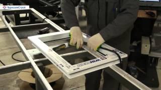 Автоматическая линия производства конструкций из ПВХ