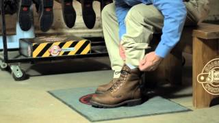 How To Fit Your Lace-Up Justin Original Workboots