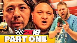 I Got Roasted By Shinsuke Nakamura at WWE 2K19 Gameplay Event   Samoa Joe Invents New Game Mode