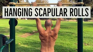 The Best Hanging Shoulder Mobility Warmup You're Not Doing!
