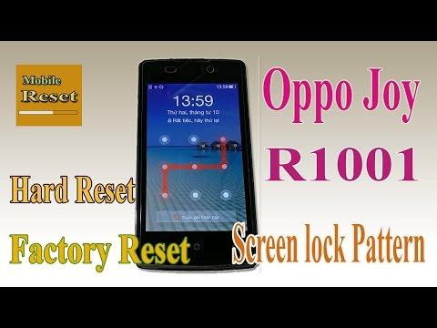 Hard Reset Oppo Joy R1001 | MP3 Indonetijen