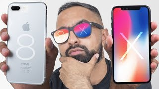 Apple iPhone X vs Apple iPhone 8 Plus - Which should you buy?