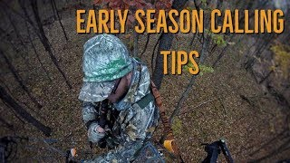 Early Season Whitetail Calling Tips! Snort Wheezing, Grunting and Rattling