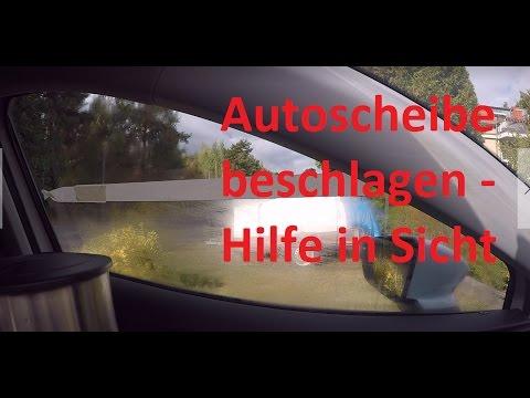 Autoscheibe beschlagen - Hilfe in Sicht