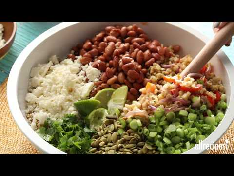 Vegetarian Recipes – How to Make Cauliflower Rice Fajita Bowls