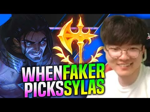 FAKER Makes SYLAS GREAT Again! - SKT T1 Faker Plays Sylas vs Twisted Fate Mid! | KR SoloQ Patch 9.24