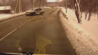 Аварии на дороге, приколы на дороге 2018 4