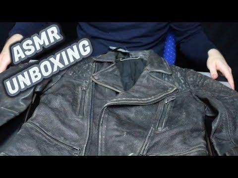 ASMR - Tigha Lederjacke Unboxing #4 (German/Deutsch)