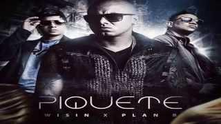 Piquete Letra   Wisin Ft Plan B Video Letra Original  REGGAETON 2015
