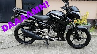 The Best Kawasaki Rouser 135LS! | Review And Exhaust Sound