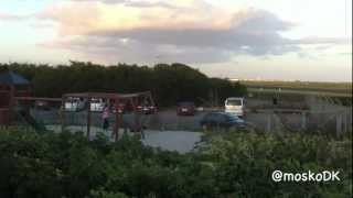 preview picture of video 'Flyvergrillen - best planespotter place in DK / CPH'