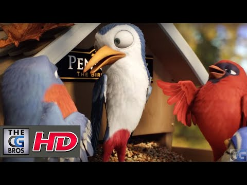 "CGI 3D Animated Spot : ""Bird Band"" – by Milford Creative Studio"