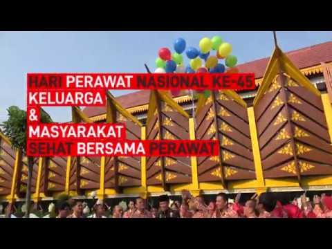 Sekretaris Daerah Kota Pekanbaru DRS. H. Mohd Noer MBS. SH. Ms.i MH Pimpin Apel HUT PPNI Ke-45
