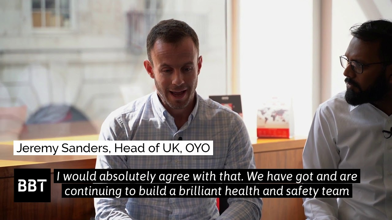 Video capture from YouTube video How seriously does OYO take health and safety?