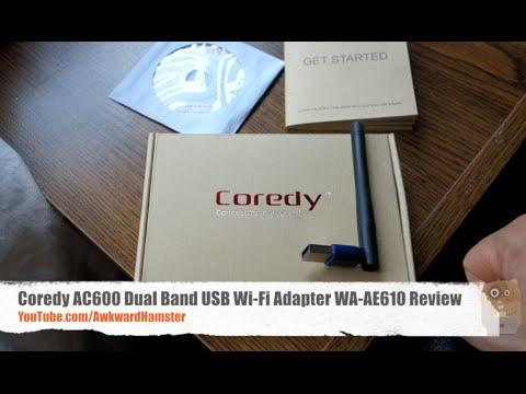 Coredy AC600 Dual Band USB Wi-Fi Adapter WA-AE610 Review