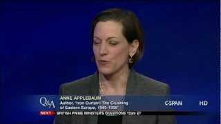 """Anne Applebaum, Author, """"Iron Curtain"""""""
