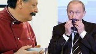 """Смотреть онлайн Путин обедает в ресторане сериала """"Кухня"""""""
