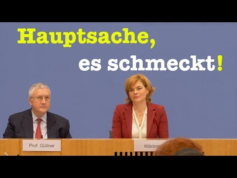 """Julia Klöckner (CDU) zum """"Ernährungsreport 2019"""" - BPK vom 9. Januar 2019"""