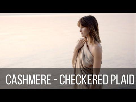 CASHMERE - Checkered Plaid