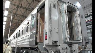 Discovery Channel Russia о современных пассажирских вагонах ТМХ