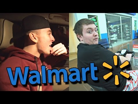 THE FUNNIEST LATE NIGHT WALMART RUN