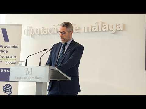 Málaga disfrutará este fin de semana de waterpolo de gran nivel gracias a la Diputación