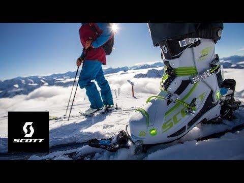 The SCOTT S1 Carbon Ski Boot