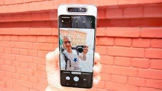 Смартфон Samsung Galaxy A80 2019 A8050 8/128GB Ghost White от компании Cthp - видео 2