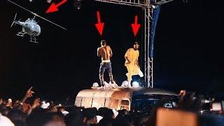 Diamond na Ray vanny  waamua kupanda na Bus jukwaani huu ni ubunifu wa hali ya juu