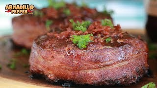 Bacon-Wrapped Mini Meatloaf Recipe on the Pit Barrel Cooker