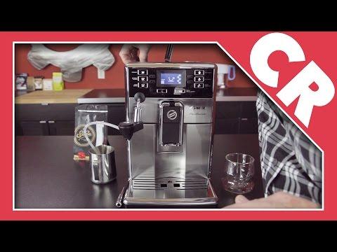 , Saeco HD8927/47 Picobaristo Super Automatic Espresso Machine, Stainless Steel