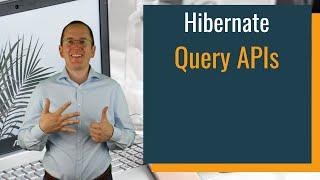 Hibernate Query API