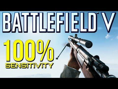 Battlefield 5: 100% Sensitivity Beasting! (Battlefield V Multiplayer Gameplay)